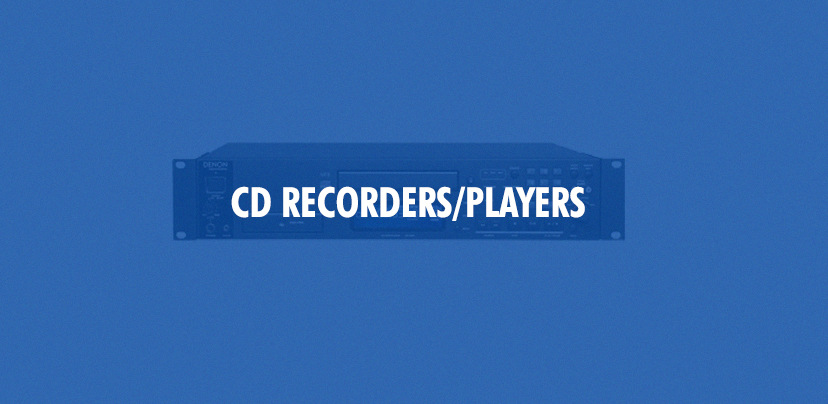 CD Recorders Small