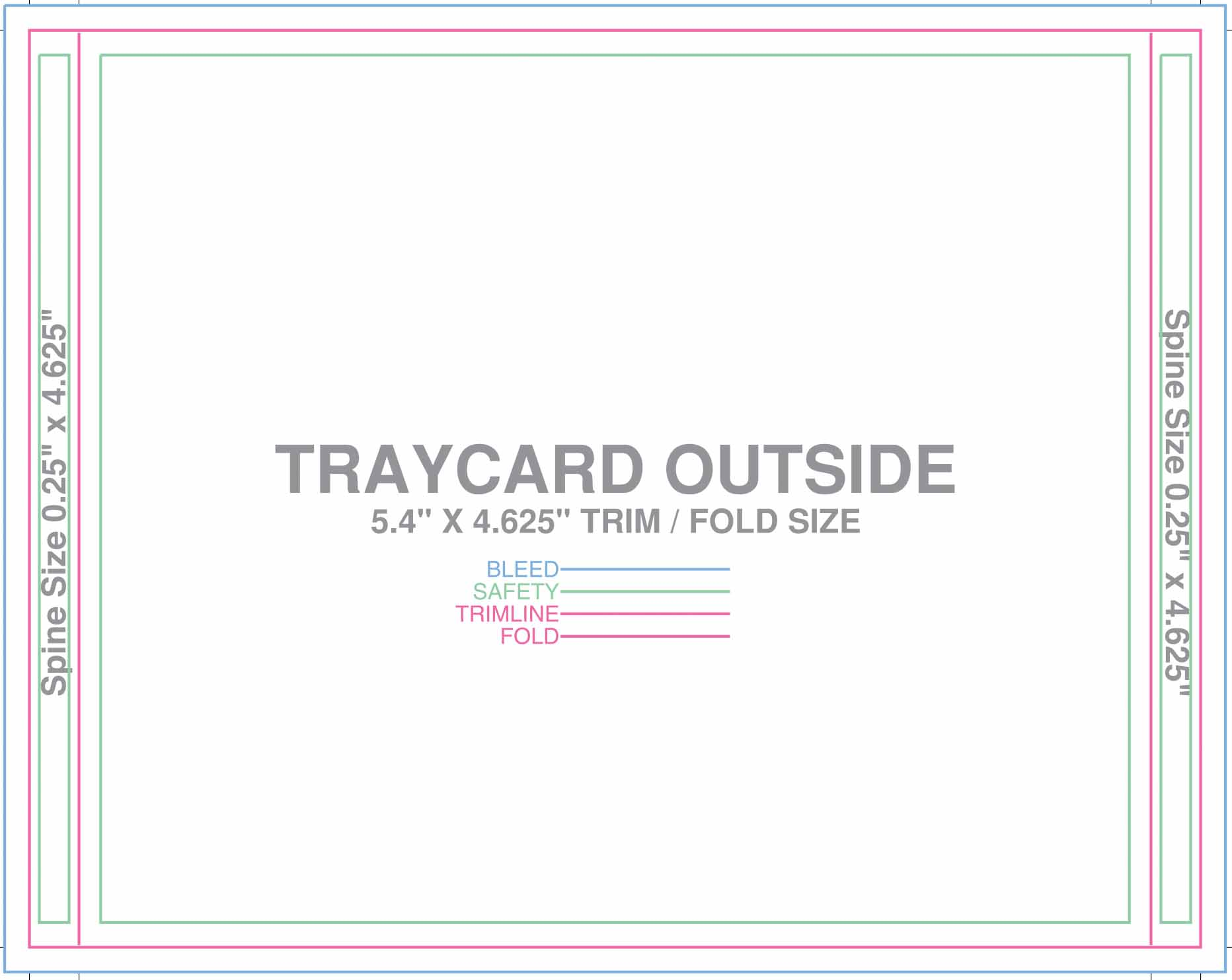 Tray Card Outside